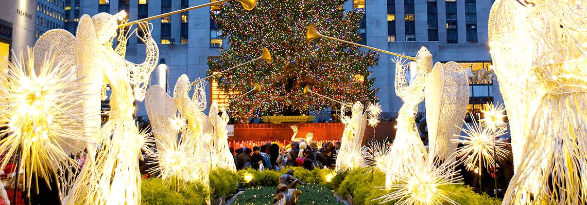 Rockefeller Centre, New York City, at Christmas